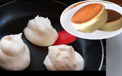 Pancake soufflé japonés sin horno