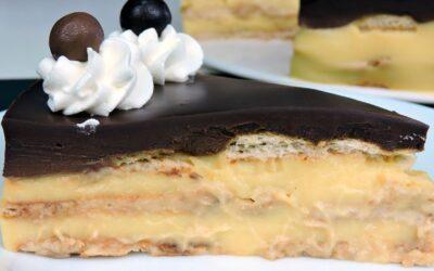 Tarta de Galletas y Chocolate (tarta de la abuela)